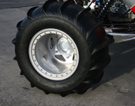 Optional Rear Paddle Tires - 1300