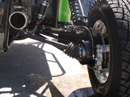X-18 Rear Suspension